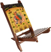 View Rajrang Ethnic Baby chair Bamboo Chair(Finish Color - Mustard Yellow) Furniture (Rajrang)