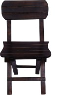 RVF Solid Wood Chair(Finish Color - Brown)