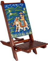 View Rajrang Ethnic Baby chair Bamboo Chair(Finish Color - Blue) Furniture (Rajrang)