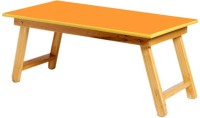 View Kirat Solid Wood Study Table(Finish Color - Orange) Price Online(Kirat)
