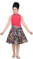Hunny Bunny Girls Party(Festive) Top Skirt(Pink)