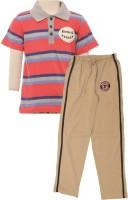 JusCubs Boys Casual Track Suit Track Suit(Multicolor)