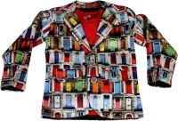 Noddy Boys Casual Blazer T-shirt(Multicolor)