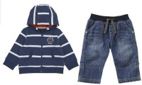 Shopandmart Boys Casual Dress Dress, Jacket, Pant(Dark Blue)