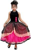 Addyvero 90 Party Dress(Pink, Sleeveless)