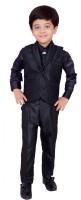 Arshia Fashions Boys Shirt, Waistcoat and Pant Set