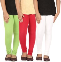 Greenwich Legging For Girls(Multicolor Pack of 3)