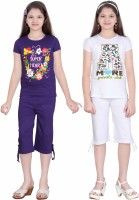 Sini Mini Kids Nightwear Girls Printed Cotton