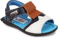 N Five Boys & Girls Buckle Strappy Sandals(Blue)