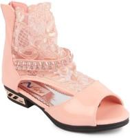 N Five Girls Sling Back Flats(Pink)