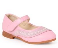 N Five Girls Buckle Flats(Pink)