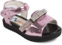 N Five Girls Buckle Strappy Sandals(Purple)