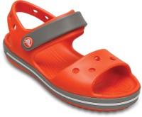 Crocs Boys & Girls Sling Back Clogs(Orange)