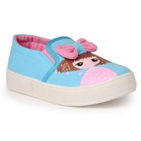 N Five Girls Slip on Casual Boots(Blue)