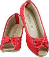 Leatherwood1 Girls Slip on Espadrilles(Red)