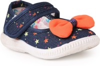 N Five Girls Velcro Casual Boots(Blue)