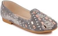 N Five Girls Slip on Dancing Shoes(Black)
