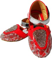 WTdesign Girls Strap Brogues(Red)