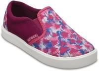 Crocs Girls Slip on Sneakers(Multicolor)