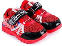Spiderman Boys Velcro Casual Boots(Red)
