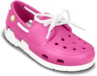 Crocs Girls Lace Sneakers(Pink)