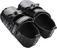 abdc kids Girls Velcro Formal Boots(Black)