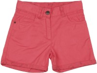 Elle Kids Short For Solid Cotton Modal Blend(Pink)