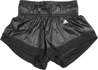 ADIDAS Short For Girls Solid Polyester(Black)