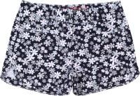 Nautica Short For Girls Casual Printed Cotton(Dark Blue)