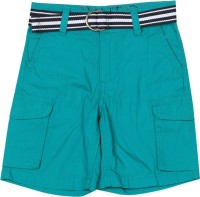 Nautica Short For Boys Casual Solid Cotton(Blue)