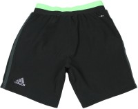 ADIDAS Short For Boys Solid Polyester(Black)