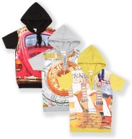 Tonyboy Boys Printed Cotton T Shirt(Multicolor, Pack of 3)