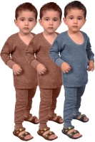 Red Fort Top - Pyjama Set For Boys(Blue, Pack of 6)