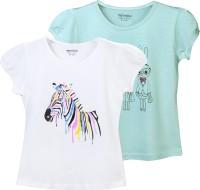 Minnow Casual Cotton Top(Multicolor, Pack of 2)