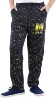 Fizzi Track Pant For Boys(Black Pack of 1)