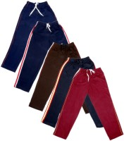 IndiWeaves Track Pant For Boys & Girls(Red Pack of 5)