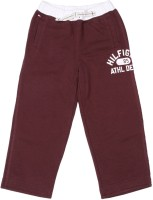 Tommy Hilfiger Track Pant For Boys(Maroon)