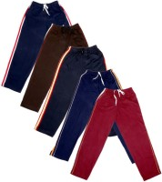 IndiWeaves Track Pant For Boys & Girls(Brown Pack of 5)