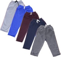 IndiWeaves Track Pant For Boys & Girls(Multicolor Pack of 5)