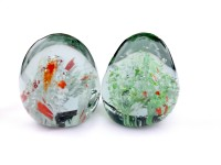 Express Series Super Glass Paper Weights  with Matte(Set Of 2, Glass)