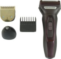 Rocklight RL 9095  Runtime: 240 min Trimmer for Men(Black, Maroon)