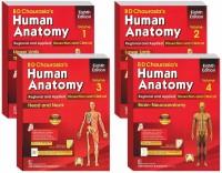 BD Chaurasia's Human Anatomy 8th Edition 2019 (Volume 1, 2, 3,4)(Paperpack, BD Chaurasia)