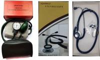 Agarwals Doctor Aneroid Sphygmomanometer Made In Japan Original, Manual Blood Pressure Machine, Arm Blood Pressure Monitors With Care Master Stethoscope Bp Monitor(Green, Black)