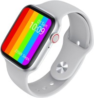 Fashius W26 Series 6, 385x320 Pixel Display Smartwatch(White Strap, Free Size)