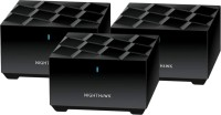 NETGEAR mk63-100pes 1800 Mbps Mesh Router(Black, Dual Band)