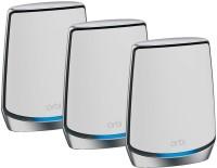 NETGEAR RBK853 7500 Mbps Mesh Router(White, Tri Band)