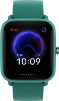 Huami Amazfit Bip U Smartwatch(Green Strap, Regular)