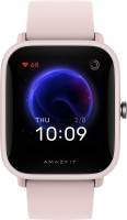 Huami Amazfit Bip U Smartwatch(Pink Strap, Regular)