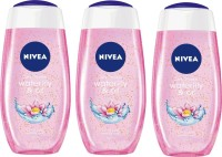 NIVEA Water lily & Oil Shower Gel - Pack of 3(3 x 250 ml)