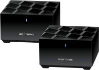 NETGEAR mk62-100pes 1800 Mbps Mesh Router(Black, Dual Band)